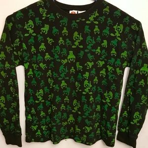 Looney tunes Marvin the Martian Print ALL OVER XL
